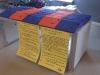 Geschenke-Mappen und die Charta in französischer Sprache